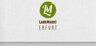 LandMarkt Erfurt eG. Logogestaltung