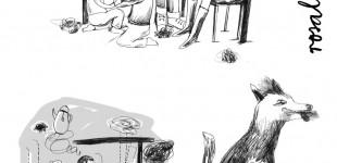 Skizzen für Kapitelillustrationen