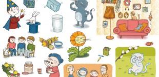 Lydia Keßner Illustration »Schulbuch«