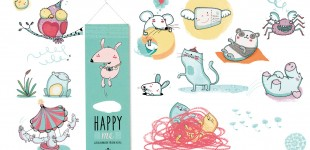 Lydia Keßner Illustration »Happy me«
