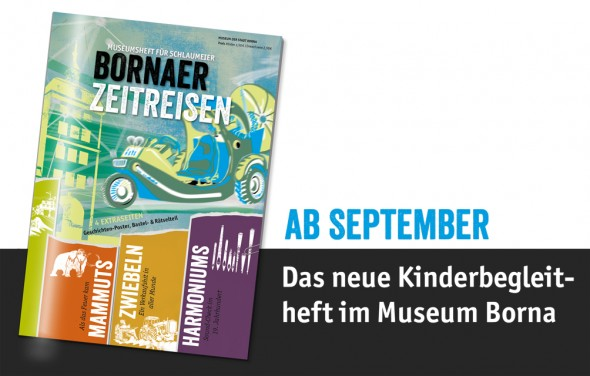 Kinderbegleitheft fuer das Museum der Stadt Borna