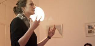 Veronika Schubring bei der Kurzvorstellung